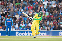 Alex Carey (Australia) goes big, straight for six during India vs Australia, ICC World Cup Cricket at The Oval on 9th June 2019