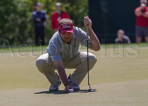 02.04.2016. Houston, Texas, USA. Matt Dobyns during the PGA Shell Houston Open Tournament Third Round at Golf Club of Houston in Houston, TX.