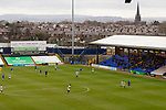 Stockport launch a long ball. Stockport County v Barnet, 07032020. Edgeley Park, National League. Photo by Paul Thompson.
