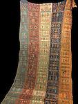 CENTRAL ANATOLYAN TURKISH CICIM TENT DIVIDER from Sivas, First Half 20th century
