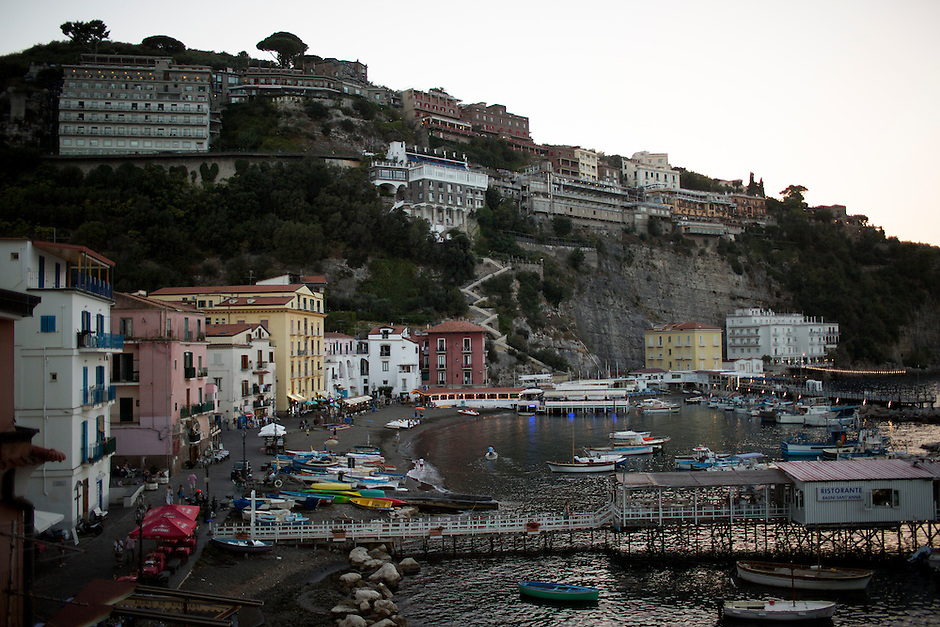 The Marina Grande is seen on Thursday, Sept. 17, 2015, in Sorrento, Italy. (Photo by James Brosher)