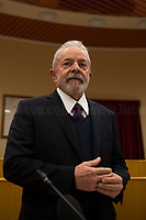 "Rome, 13/02/2020. Today, Lula, former President of Brazil, visited Rome for a private and informal meeting with Pope Francis at Casa Santa Marta in the Vatican. ""We have spoken of a more just and fraternal world […] the world should be inspired by Pope Francis"" Lula told journalists at the CGIL HQ (CGIL Confederazione Generale Italiana del Lavoro, Italian General Confederation of Labour, 1.) where he had a press conference.     <br /> Lula Inácio da Silva served as the 35th President of Brazil from 01 January 2003 to 31 December 2010. He is a founding member of the Workers' Party, PT. On 07 April 2018 Lula was sentenced to 12 years in prison on charges of money laundering and passive corruption which stopped him to run again for President of Brazil against the now-elected President Jair Bolsonaro. «[…] On 08 November 2019, after 580 days in jail, Lula was released from prison following a supreme court's decision that defendants can remain free until they have exhausted all appeals as well as increasing claims by his allies of a lack of evidence behind his arrest […]» (2.).<br /> For Lula, this trip to Rome, constitutes his first journey abroad since he was released on 08 November 2019, after 580 days in prison, due to a change in the Federal Supreme Court jurisprudence which made prison sentences enforceable only after the exhaustion of possible procedural appeals.<br /> <br /> Footnotes & Links:<br /> 1. http://cgil.it/ & https://bit.ly/2E1Al5a (Source, Wikipedia.org)<br /> 09.02.2019 - CGIL, CISL, UIL – Trade Unions National Demo in Rome http://bit.do/ftKZg<br /> 2. http://bit.do/ftKYu (Source, Wikipedia.org)<br /> http://bit.do/ftKRi (Source, La Repubblica.it, ITA)"