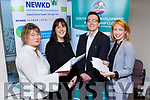 Eilish Hanrahan NEWKD Listowel , Elaine Kennedy NEWKD Castleisland and Dingle, Robert Carey NEWKD Listowel and Joanne Griffin SKDP at the launch of the ILDN Enterprise Awards in the SKDP offices in Killarney on Monday