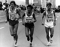 1984  File Photo - Montreal marathon -