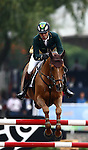 GUADALAJARA, MEXICO - OCTOBER 27:  Rodrigo Pessoa of Brazil during the Equestrian Show Jumping Competition on Day Thirteen of the XVI Pan American Games on October 27, 2011 in Guadalajara, Mexico.  (Photo by Donald Miralle for Mexsport) *** Local Caption ***