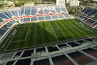 BOCA RATON, FL - DECEMBER 15, 2012: FAU stadium before  an international friendly match between the USA WNT and China WNTat FAU Stadium, in Boca Raton, Florida, on Saturday, December 15, 2012.