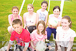 SUMMER CAMP: Enjoying the KDYS summer camp in Listowel last week were front, l-r: Jack Healy, Aoife Enright, Aoife O'Mahony. Back l-r: Marissa Molyneaux, Katie Lehane, Anna Kirwan, Lorraine Nolan.