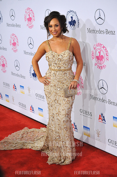 Cheryl Burke at the 26th Carousel of Hope Gala at the Beverly Hilton Hotel..October 20, 2012  Beverly Hills, CA.Picture: Paul Smith / Featureflash