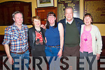 Pictured at the Abbey Heritage Local Training Innitiative Fundraising Tea Dance in The GAA Clubhouse in Abbeyfeale on Sunday were L-R : Berite Murphy, Joan Lane, Abbeyfeale, Nora Kelly, Knocknagoshel, William and Mary McArthur, Abbeyfeale.