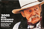 Published photography by Larry Angier..RANGE magazine 2002 Real Buckaroo Calendar cover