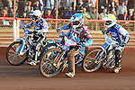 LAKESIDE HAMMERS v POOLE PIRATES<br /> FRIDAY 7THD JUNE 2013<br /> ELITE LEAGUE<br /> ARENA-ESSEX<br /> HEAT 4