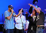RZA performs with We are Plastic Ono Band on night 2 at The Orpheum Theatre in Downtown Los Angeles, California on October 02,2010                                                                   Copyright 2010  Debbie VanStory / RockinExposures