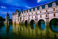 Chateau de Chenonceau in the Loire Valley, Chenonceaux, near Amboise, France.