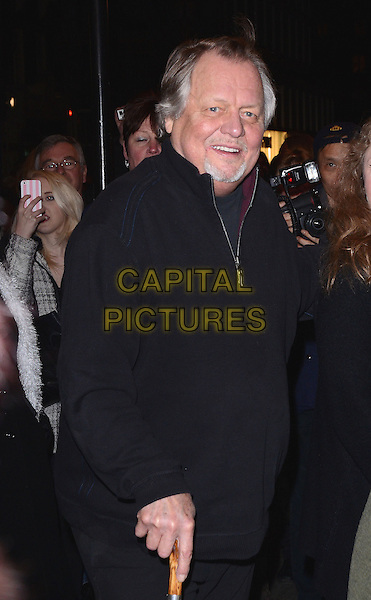 LONDON, ENGLAND - FEBRUARY 25: David Soul attends the &quot;The Full Monty&quot; press night, Noel Coward Theatre, St Martin's Lane, on Tuesday February 25, 2014 in London, England, UK.<br /> CAP/MB/PP<br /> &copy;Michael Ball/PP/Capital Pictures
