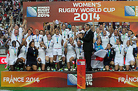 Women's Rugby World Cup 2014 Paris