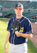 2007:  Jeremy Johnson of the Toledo Mudhens poses for a photo after batting practice prior to a game vs. the Rochester Red Wings in International League baseball action.  Photo copyright Mike Janes Photography 2007.