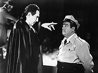 (L to R) Bela Lugosi, and Lou Costello in<br /> Abbott and Costello Meet Frankenstein