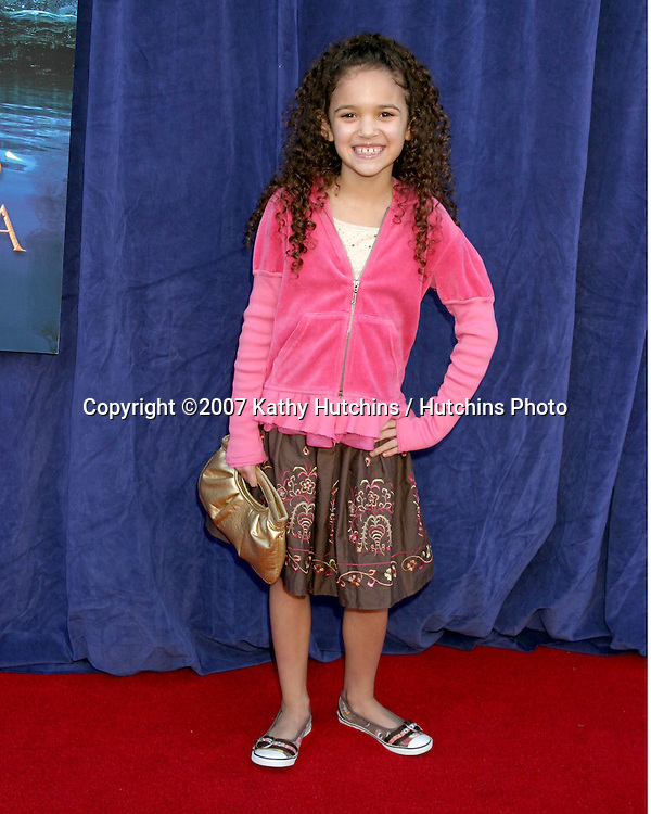 "Madison Pettis.""Bridge to Terabithia""  Movie World Premiere.El Capitan Theater.Hollywood, CA.February 3, 2007.©2007 Kathy Hutchins / Hutchins Photo."