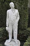 Statue at Glover House at Nagasaki Glover Garden.