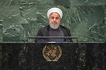 DSG meeting<br /> <br /> AM Plenary General DebateHis<br /> <br /> <br /> His Excellency Hassan Rouhani, President, Islamic Republic of Iran