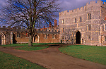A728J7 St Osyth priory gatehouse Essex England. Image shot 2007. Exact date unknown.