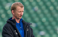Leinster's Head Coach Leo Cullen<br /> <br /> Photographer Bob Bradford/CameraSport<br /> <br /> Heineken Champions Cup Pool 1 - Bath v Leinster - Saturday 8th December 2018 - The Recreation Ground - Bath<br /> <br /> World Copyright © 2018 CameraSport. All rights reserved. 43 Linden Ave. Countesthorpe. Leicester. England. LE8 5PG - Tel: +44 (0) 116 277 4147 - admin@camerasport.com - www.camerasport.com
