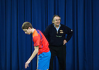 21-02-2014, Netherlands, Eemnes, Martin Simek, coach<br /> Photo: Henk Koster