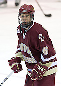 Tim Kunes (BC 6) - The Boston College Eagles and Providence Friars played to a 2-2 tie on Saturday, March 1, 2008 at Schneider Arena in Providence, Rhode Island. Tim Kunes, junior defenseman for the Boston College Eagles, is a 2005 fifth round pick of the Carolina Hurricanes.