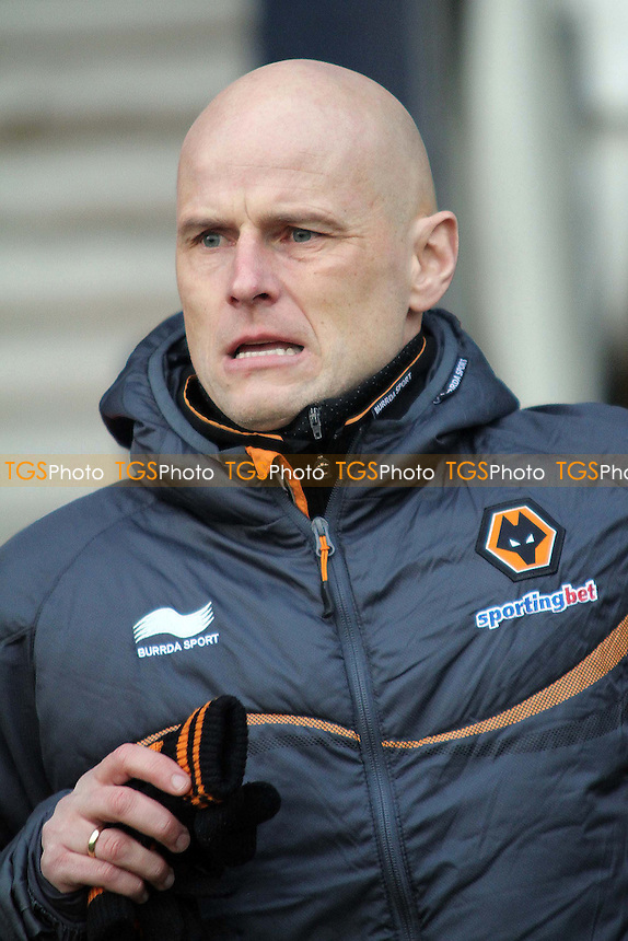 Stale Solbakken (manager, Wolves) - Luton Town vs Wolverhampton Wanderers - FA Challenge Cup 3rd Round Football at Kenilworth Road - 05/01/13 - MANDATORY CREDIT: Mick Kearns/TGSPHOTO - Self billing applies where appropriate - 0845 094 6026 - contact@tgsphoto.co.uk - NO UNPAID USE.
