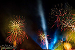 04-16-2016: Red Rock Casino in Las Vegas celebrates it 10 year anniversary with spectacular firewoks show by Grucci :  Photo Jay Ludwig