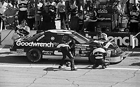 Dale Earnhardt, #3 Chevrolet Lumina, pit stop, Daytona 500, NASCAR, Daytona International Speedway, Daytona Beach, FL, February 1994.  (Photo by Brian Cleary/bcpix.com)