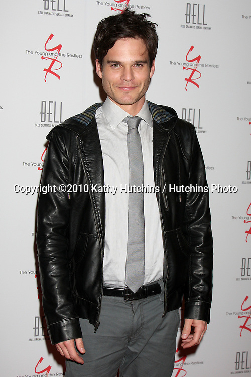 Greg Rikaart .arrivng at The Young & The Restless 37th Anniversary Dinner.Via Allorro.Beverly Hills, CA.March 9, 2010.©2010 Kathy Hutchins / Hutchins Photo....