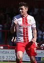 Greg Tansey of Stevenage celebrates after scoring a penalty<br />  - Stevenage v Bradford City - Sky Bet League 1 - Lamex Stadium, Stevenage - 31st August, 2013<br />  © Kevin Coleman 2013