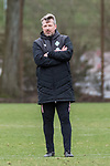 12.03.2019, Trainingsgelaende, Bremen, GER, RL Nord, Training Werder Bremen II<br /><br />im Bild<br />Sven H&uuml;bscher / Huebscher (Trainer SV Werder Bremen II), <br /><br />Foto &copy; nordphoto / Ewert