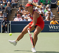 Angelique Kerber<br /> Tennis - US Open  - Grand Slam -  Flushing Meadows  2013 -  New York - USA - United States of America - Thursday 29th August 2013. <br /> &copy; AMN Images, 8 Cedar Court, Somerset Road, London, SW19 5HU<br /> Tel - +44 7843383012<br /> mfrey@advantagemedianet.com<br /> www.amnimages.photoshelter.com<br /> www.advantagemedianet.com<br /> www.tennishead.net