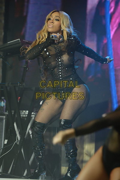 FORT LAUDERDALE FL - AUGUST 02: K. Michelle performs at Revolution on August 2, 2016 in Fort Lauderdale, Florida. <br /> CAP/MPI04<br /> &copy;MPI04/Capital Pictures