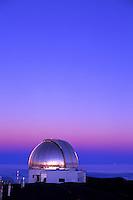 Observatory on Mauna Kea, Big Island of Hawaii