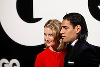 Radamel Falcao and Lorelei Dahiana Tarón attends GQ Men of the Year 2012 Awards at Palace Hotel on November in Madrid, Spain. November 19, 2012. (ALTERPHOTOS/Caro Marin) /NortePhoto
