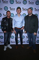 13 April 2018 - Las Vegas, Nevada -  Shane McAnally, Ashley Gorley, Josh Osborne.  ACM Party For A Cause ACM Stories, Songs &amp; Stars at The Joint inside The Hard Rock Hotel and Casino.   <br /> CAP/ADM/MJT<br /> &copy; MJT/ADM/Capital Pictures