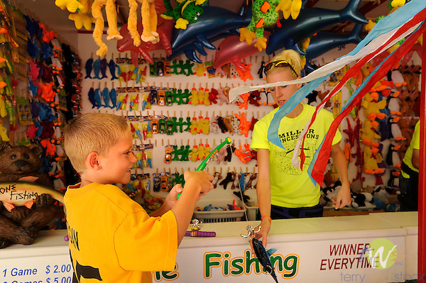 32nd Annual Selinsgrove Market Street Festival. Fishing game.