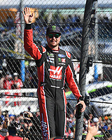 HOMESTEAD, FL - NOVEMBER 19: Kurt Busch waves to the Crowd during the Monster Energy NASCAR Cup Series Championship Ford EcoBoost 400 at Homestead-Miami Speedway on November 19, 2017 in Homestead, Florida. Credit: mpi04/MediaPunch /NortePhoto.com