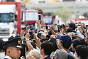 Spectators,<br /> OCTOBER 7, 2016 :<br /> Japanese medalists of Rio 2016 Olympic and Paralympic Games wave to spectators during a parade from Ginza to Nihonbashi, Tokyo, Japan.<br /> (Photo by Shingo Ito/AFLO)