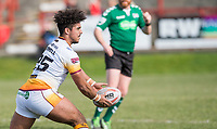 Picture by Allan McKenzie/SWpix.com - 25/03/2018 - Rugby League - Betfred Championship - Batley Bulldogs v Featherstone Rovers - Heritage Road, Batley, England - Izaac Farrell.
