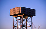 A5EXP6 Military water tower at former RAF Bentwaters Suffolk England