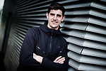 Thibaut Courtois of Chelsea feature shoot at the Chelsea Training ground in Cobham, Surrey. Picture date: May 19th, 2017.Pic credit should read: Charlie Forgham Bailey/Sportimage