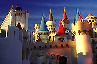 Las Vegas, Nevada, NV, The Strip, Excalibur Hotel & Casino on The Strip in Las Vegas, the Entertainment Capital of the World.