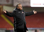 Chris Wilder manager of Sheffield United reacts during the English Football League One match at Bramall Lane, Sheffield. Picture date: November 22nd, 2016. Pic Jamie Tyerman/Sportimage