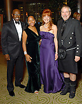 From left : Gerald and Anita Smith with Gracie and Bob Cavnar at the Winter Ball held at the Hilton Americas Houston Saturday Jan. 10, 2009.(Dave Rossman/For the Chronicle)