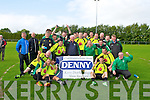 PREMIER CHAMPIONS: The Killarney Celtic senior team winners of the premier league final at Mounthawk Park, Tralee on Sunday.