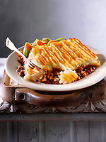 "Britsh Food - Shepherd""s Pie meal"
